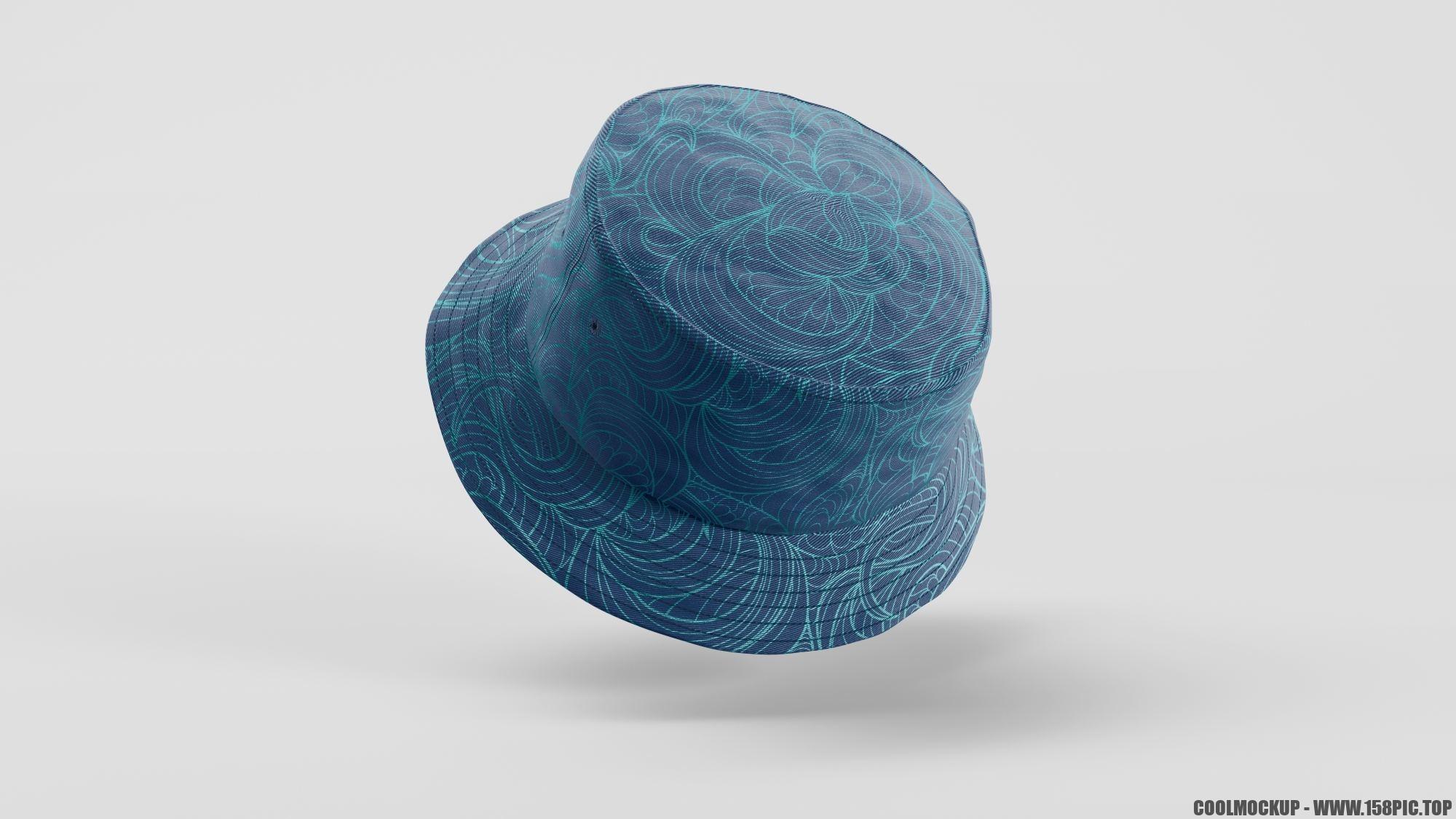 01c9fbea07b8301 - 简约编织渔夫帽样机