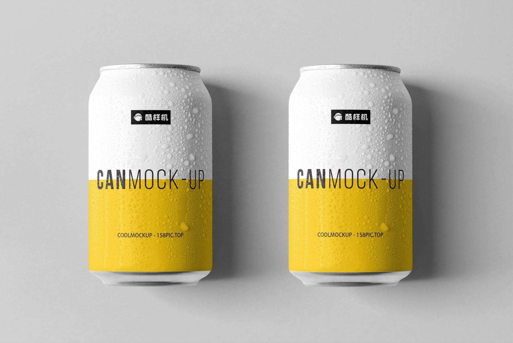 04962c4fb3c3892 - 简约饮料啤酒包装易拉罐样机