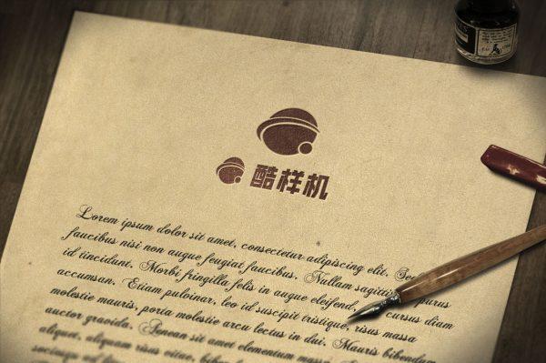 logo样机信封图案