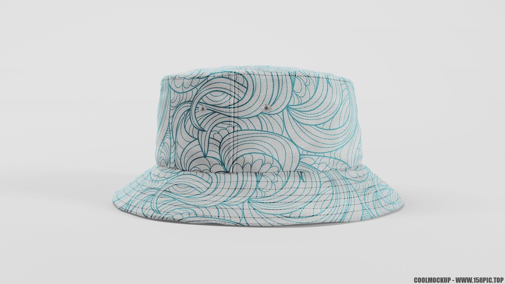 0ee05c75fbced11 - 简约编织渔夫帽样机