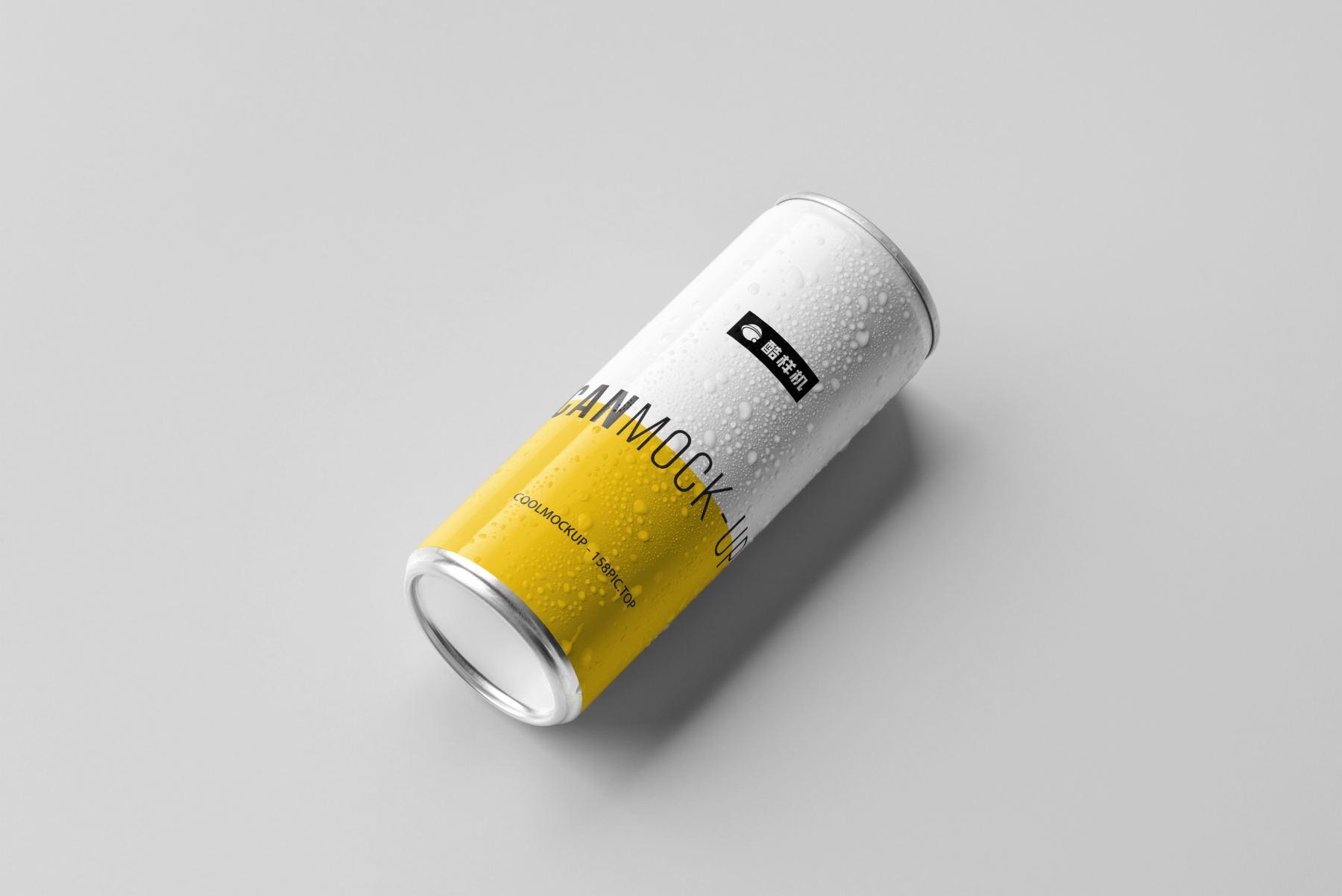 135f0d93e9471f0 - 简约饮料啤酒包装易拉罐样机