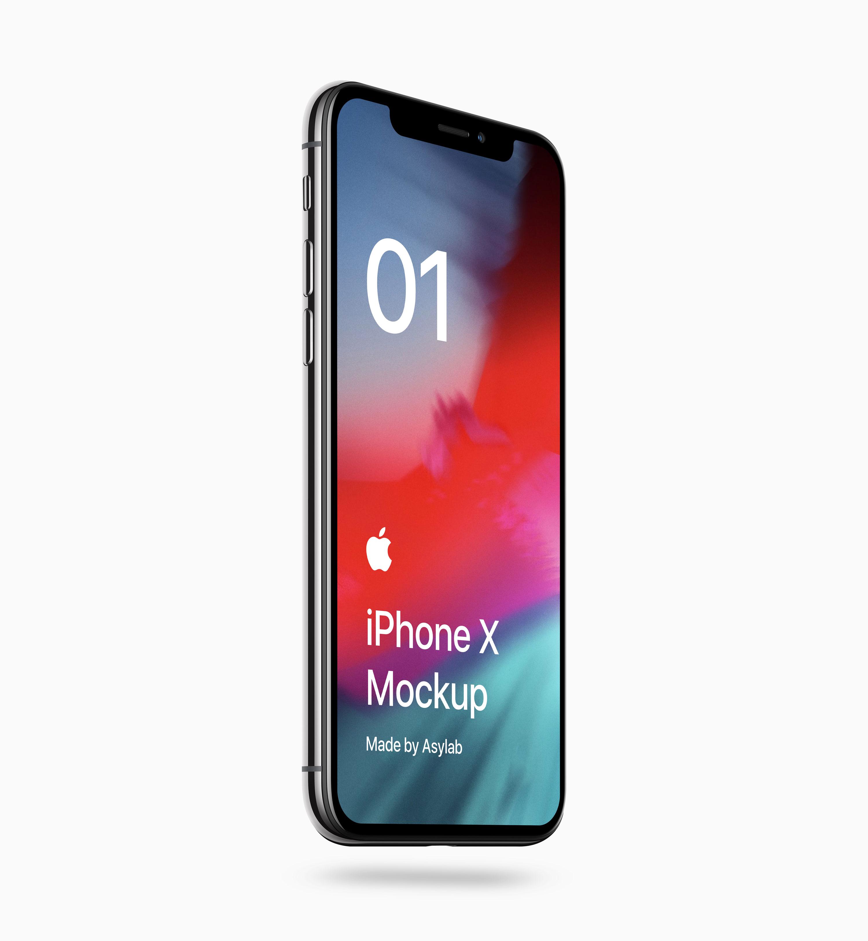 1a4c68c43cb5e16 - 苹果iPhoneX UI样机