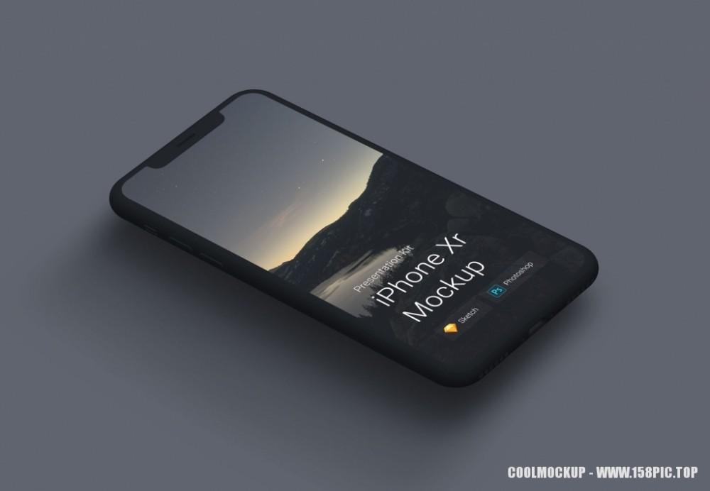 iPhone手机UI界面样机