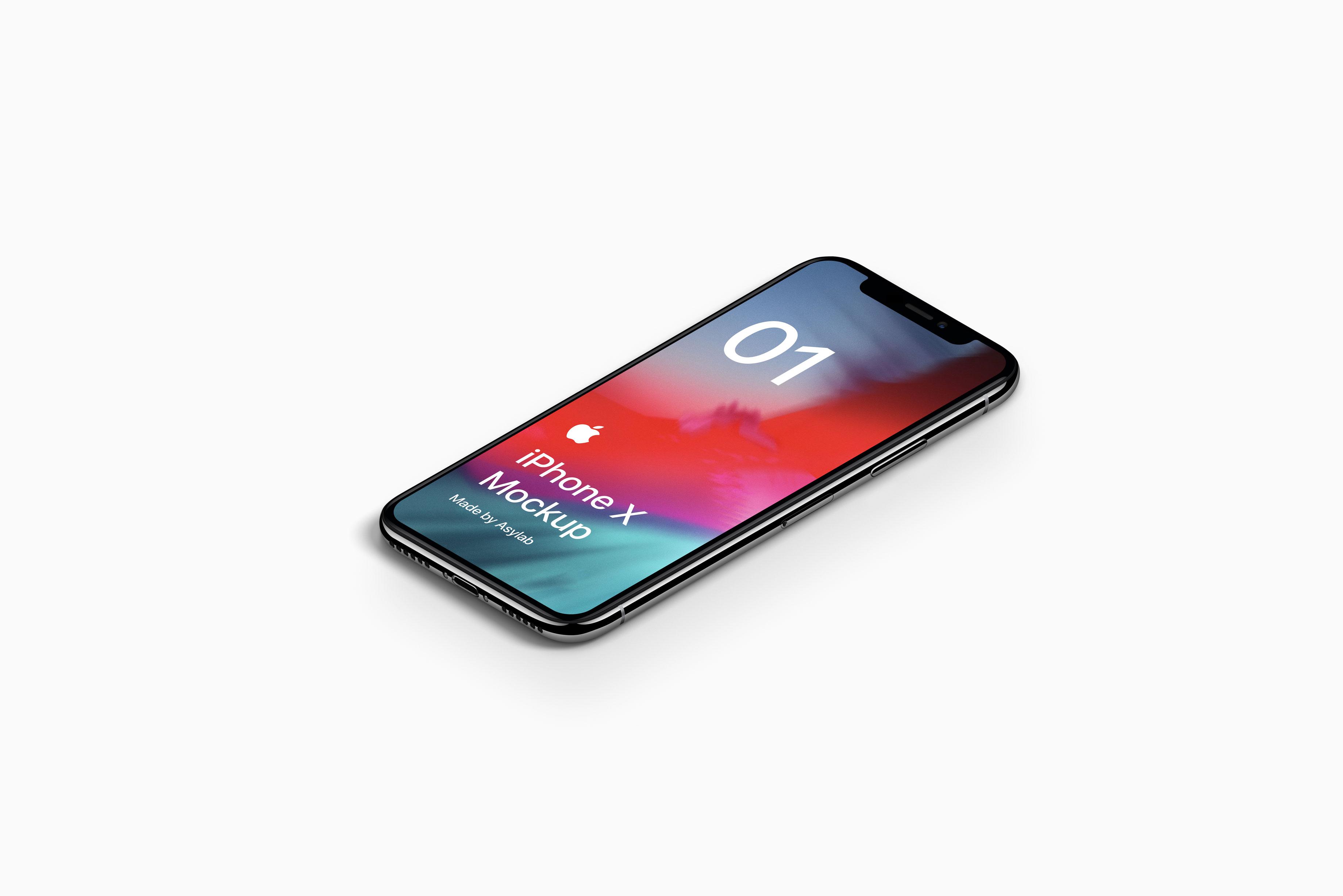 21c532617e0bfb0 - 苹果iPhoneX UI样机