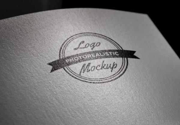 logo样机印章纸质