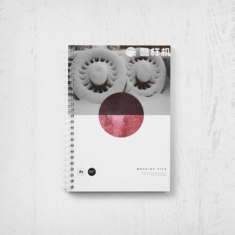 硬壳线圈笔记本记事本