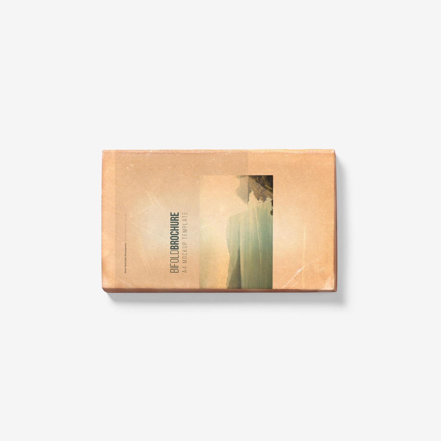 549c7ab37ddefed - 古朴平铺宣传书籍画册样机