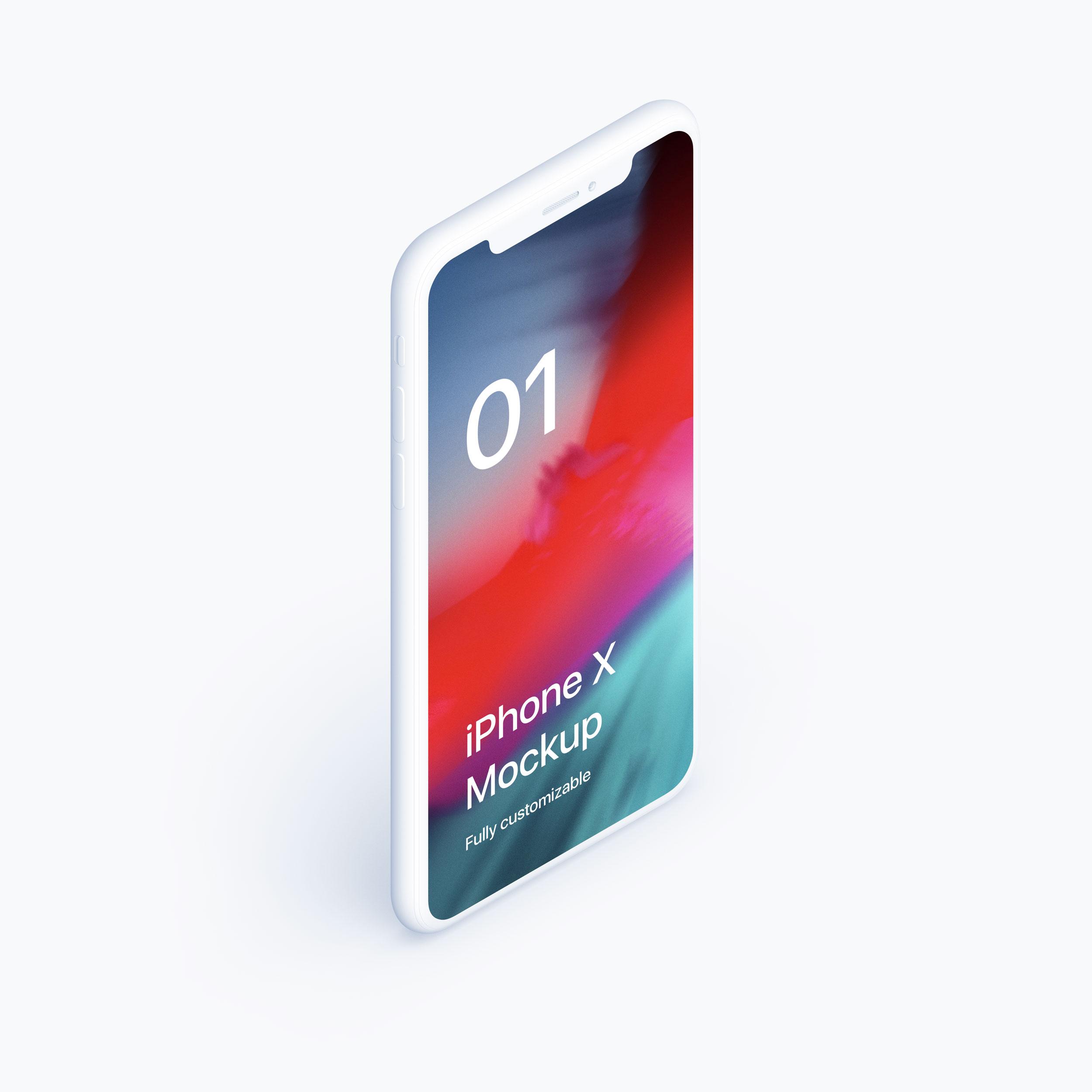 59b6c1ca1ecee38 - 苹果iPhoneX UI样机