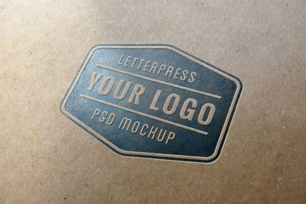 logo样机纸质