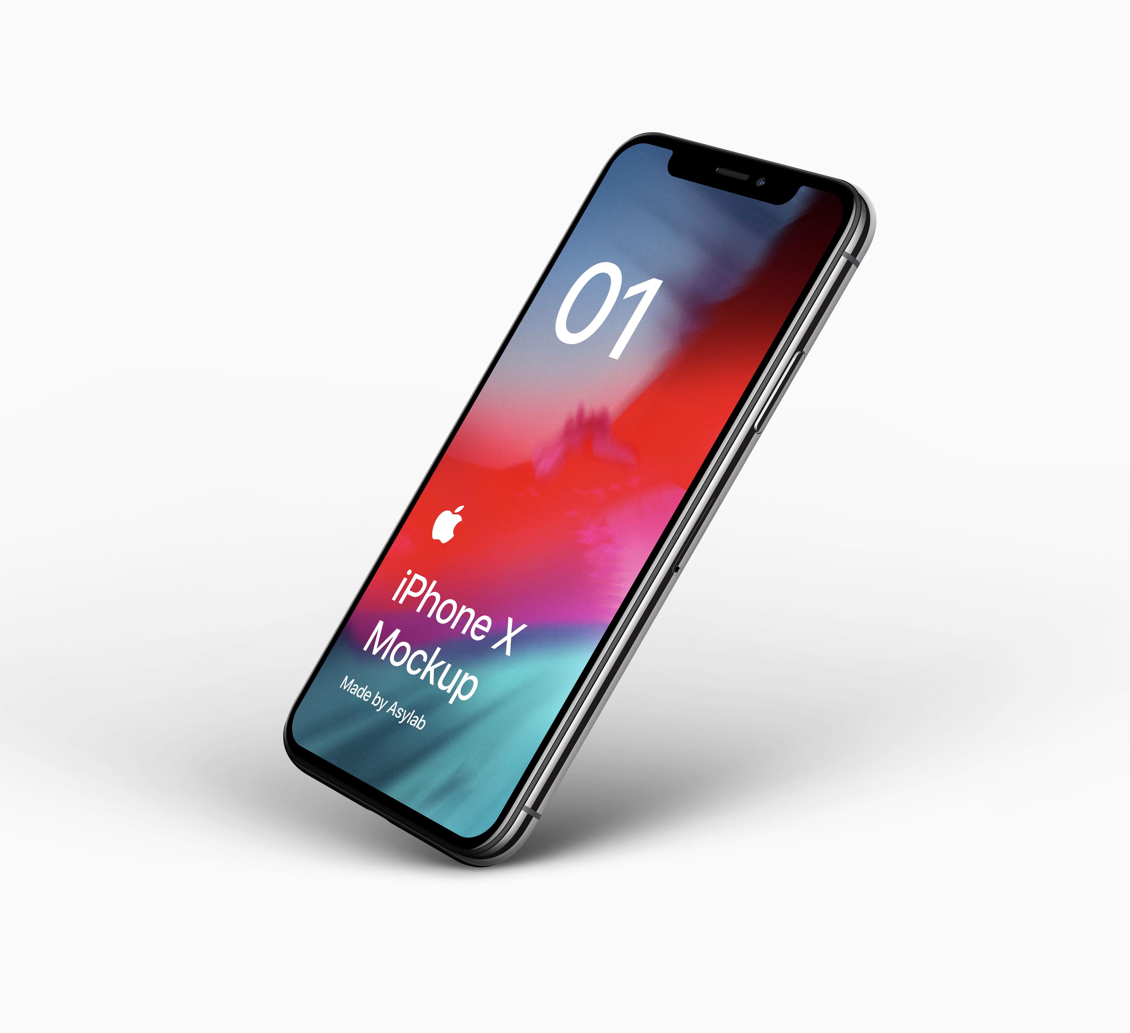 644e708bdbb9b14 - 苹果iPhoneX UI样机