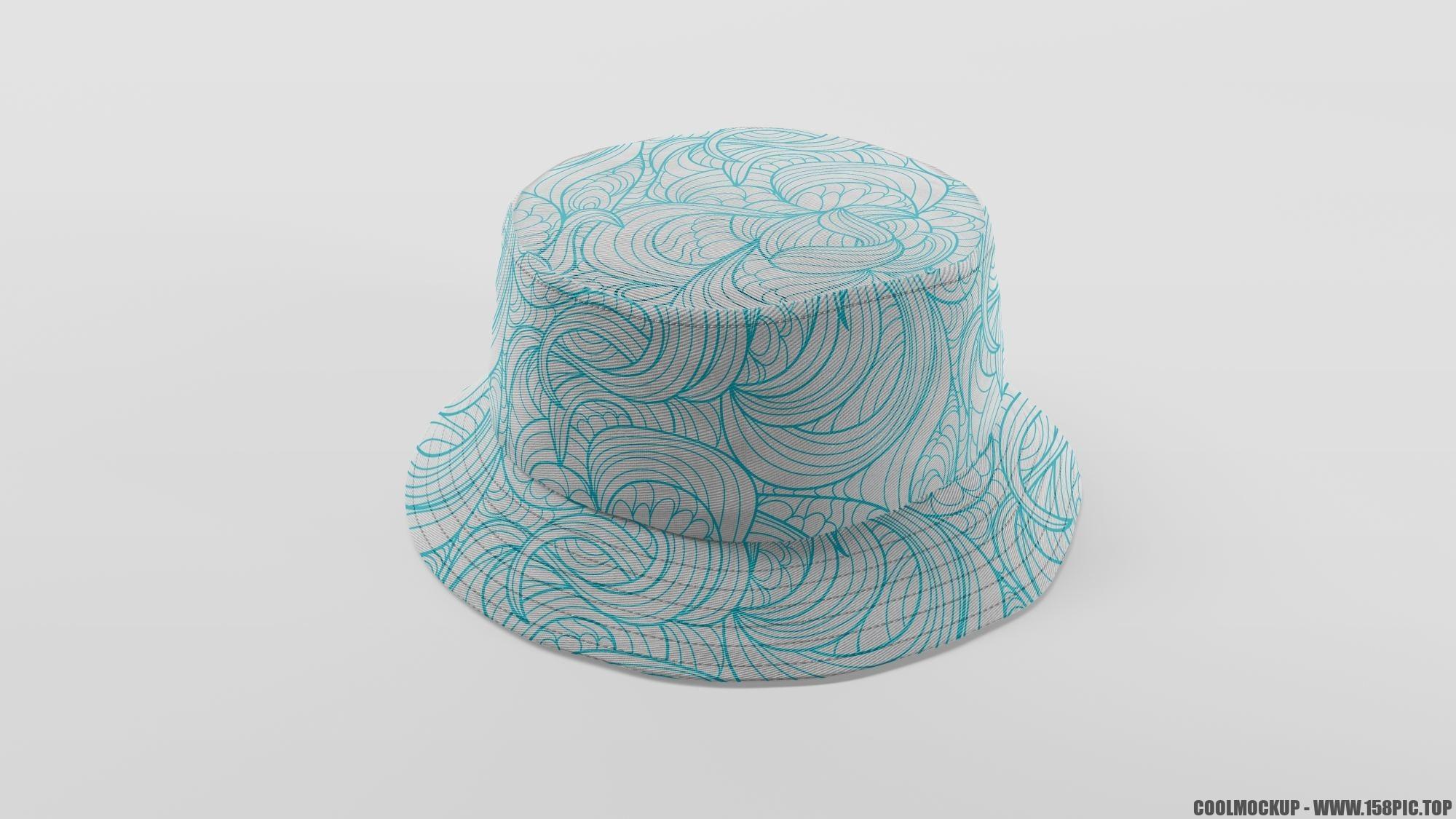 70fb533e258fb8e - 简约编织渔夫帽样机