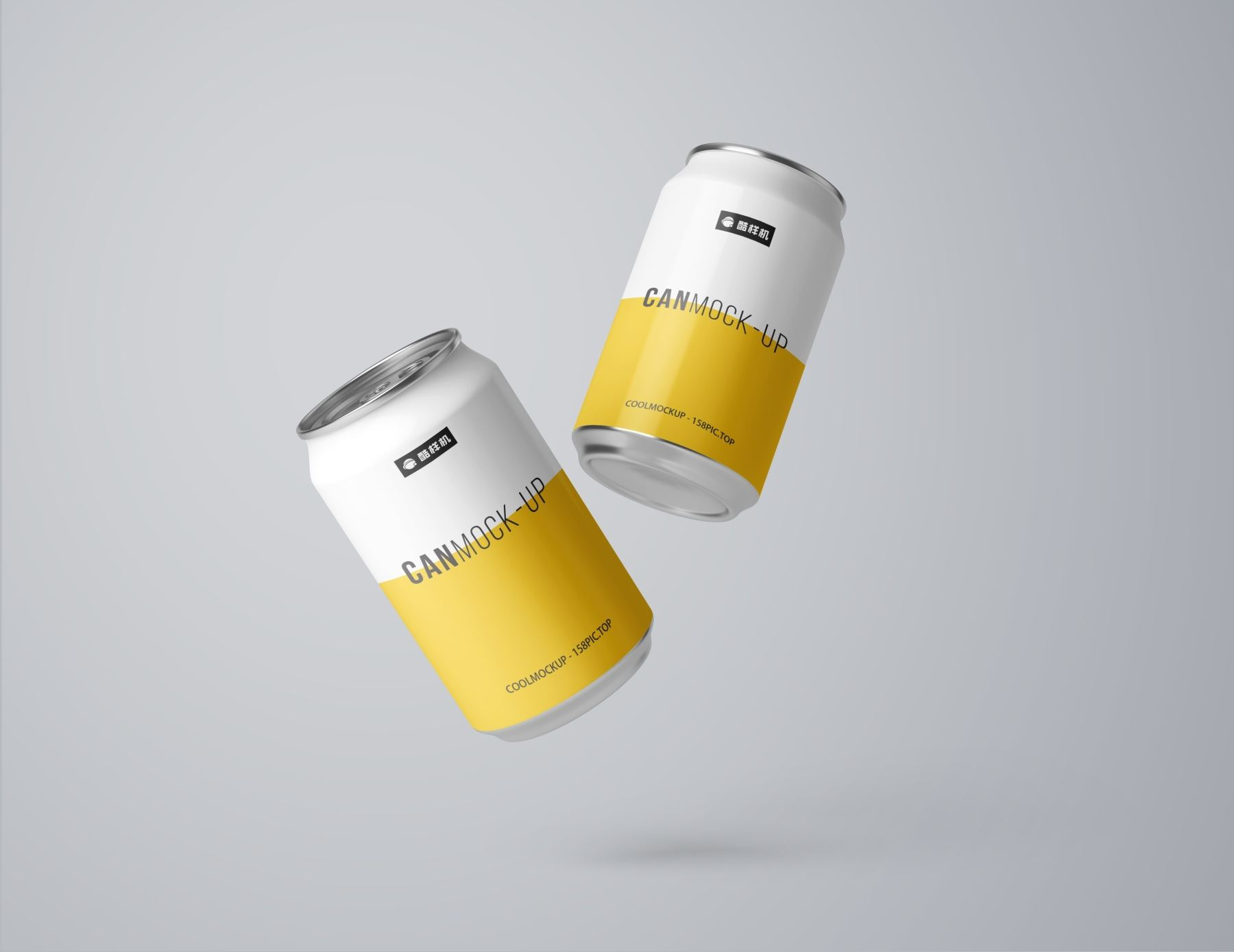 7149e4cde510296 - 简约饮料啤酒包装易拉罐样机