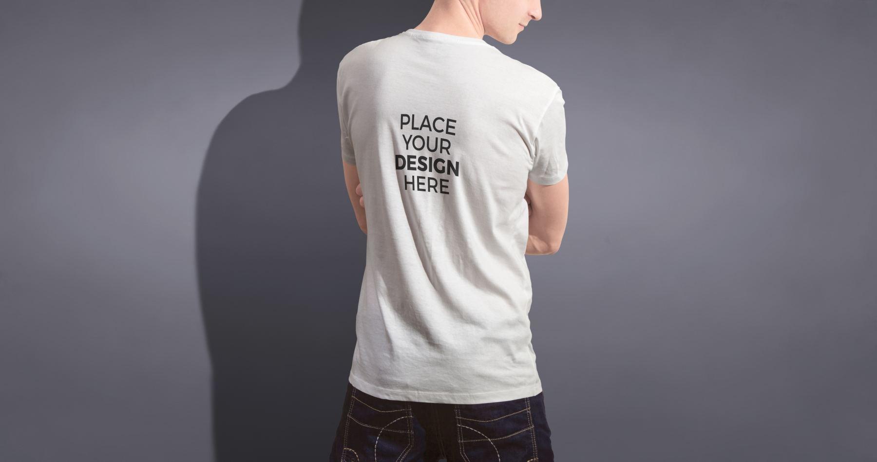 9d4ae728519b61b - 潮流印花短袖T恤男款模特服饰上装样机
