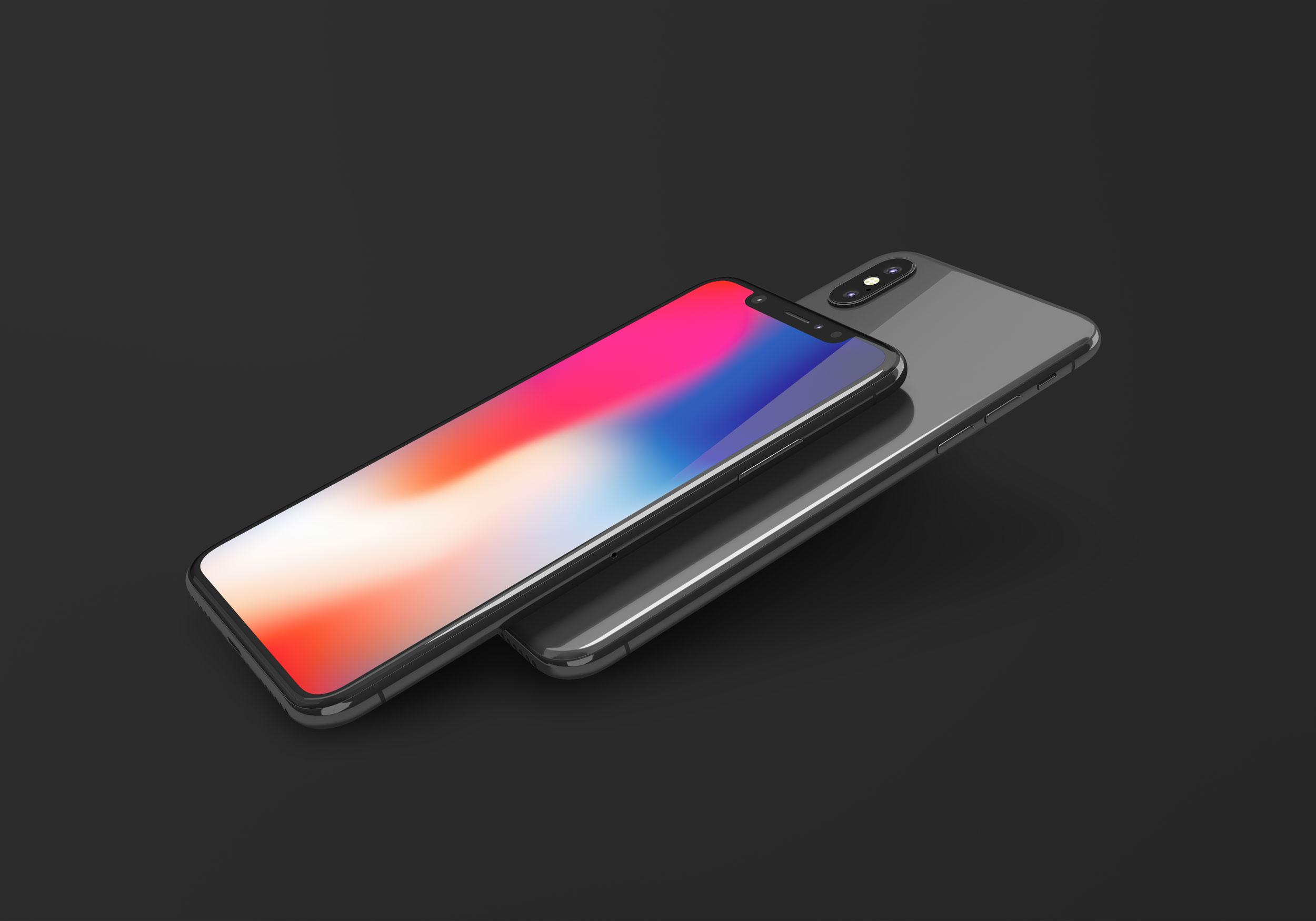 ad2372a42b53325 - 苹果iPhoneX UI样机