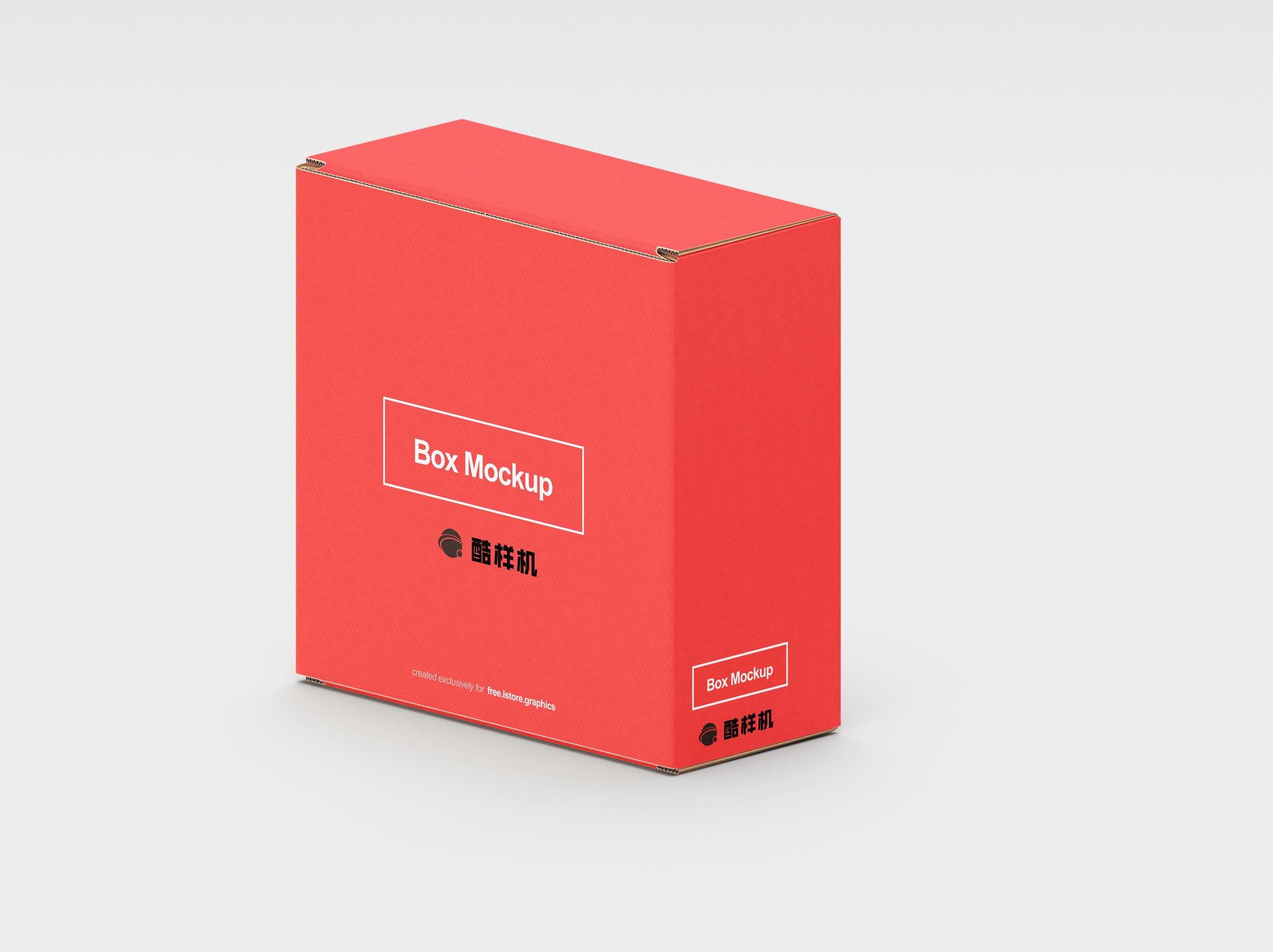 ea6dda91f2baaeb - 简约长方形纸箱样机