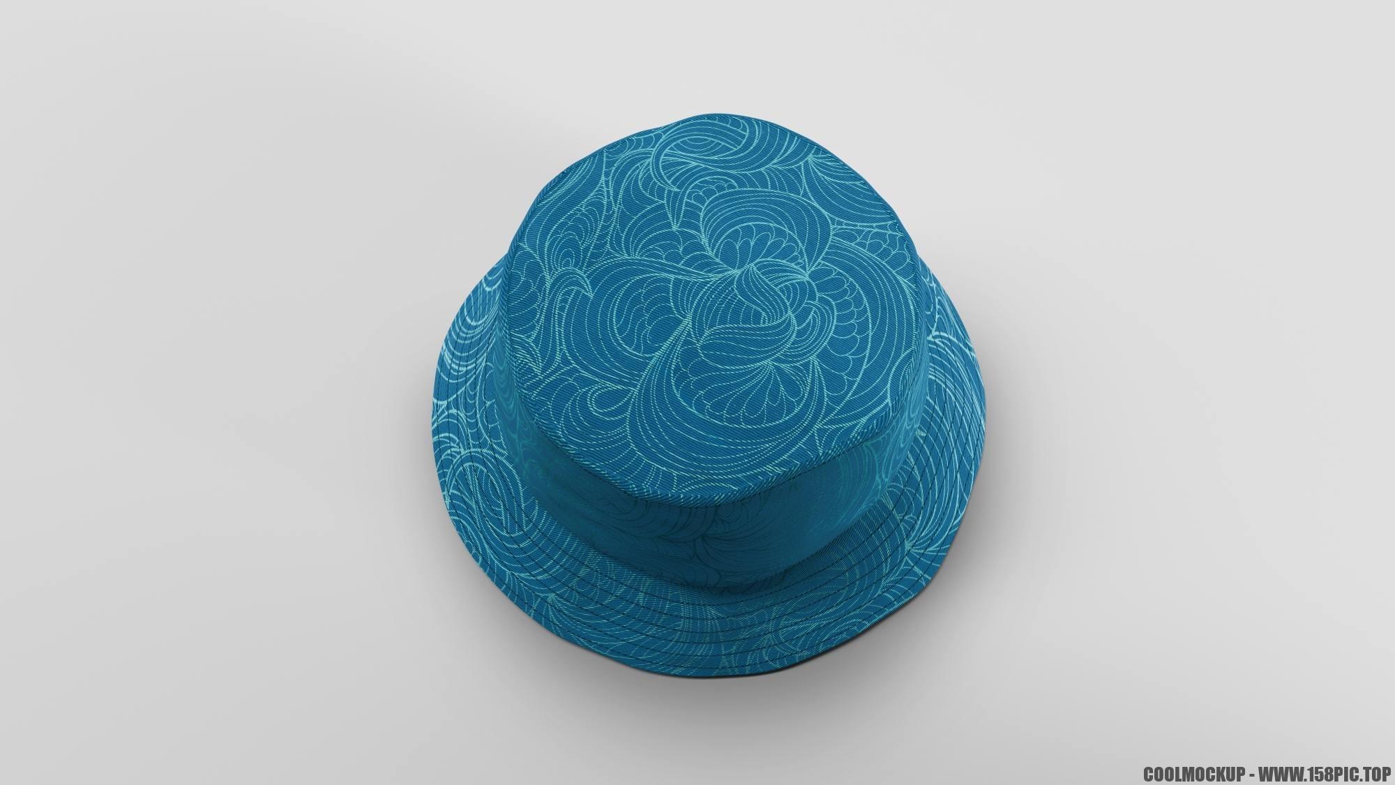 eab9be63b128fff - 简约编织渔夫帽样机