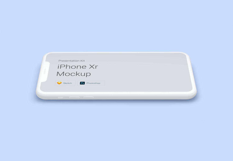 f1339ed516b8ae3 - 苹果iPhoneXr UI样机