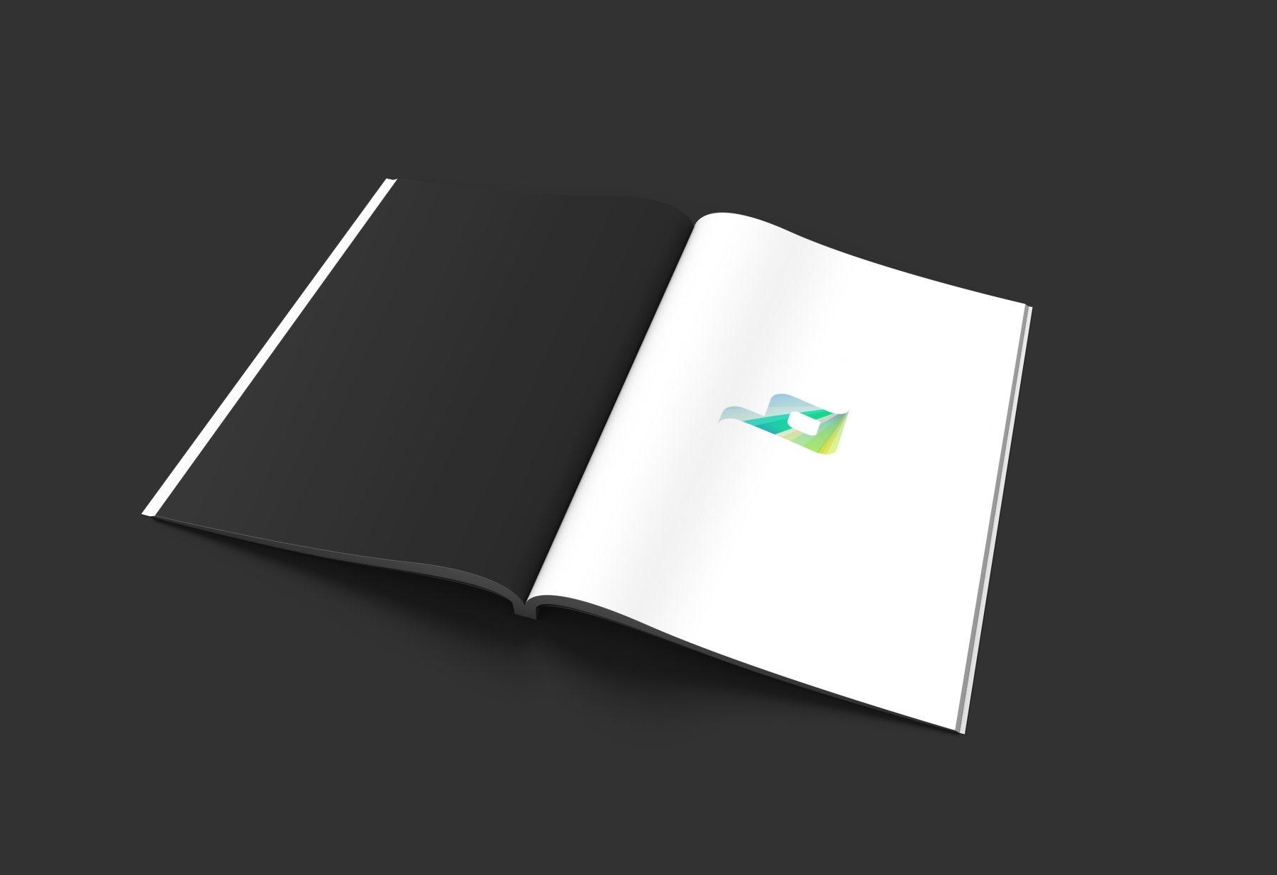 1568982953 a98860727e0caae - 黑色大气企业vi样机杂志书籍画册样机