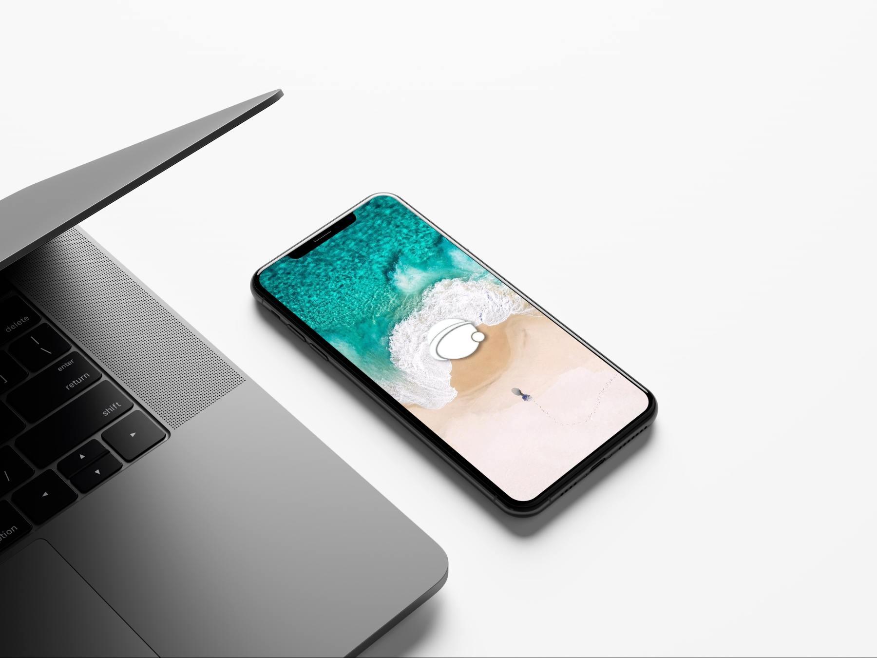 1569726941 e6967450f425676 - 苹果iPhoneX UI样机