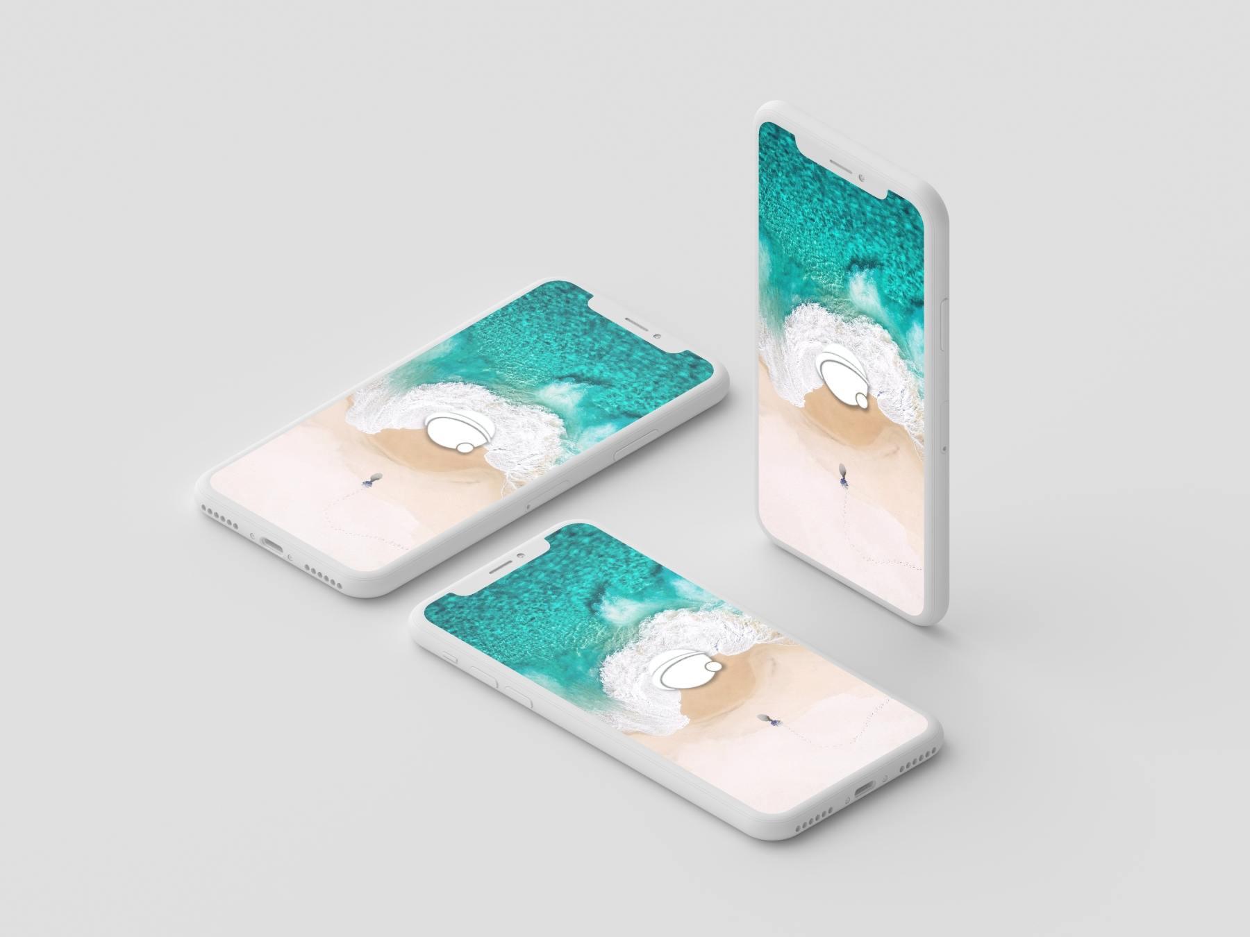 1569727121 c6b886191596479 - 苹果iPhoneX UI样机