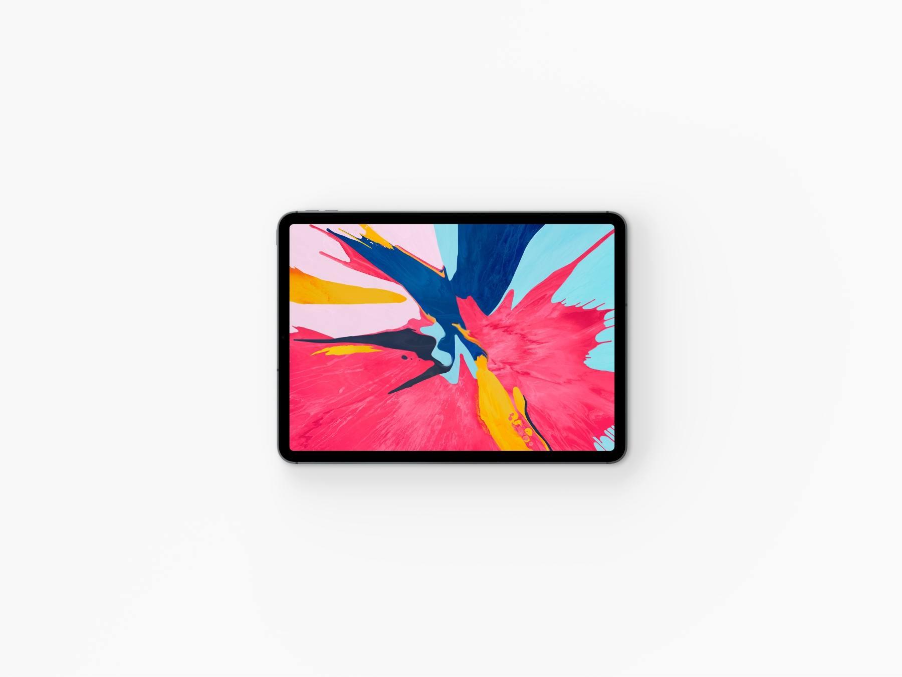 1569728405 24d64691e4b7a8f - 苹果iPad Pro UI样机