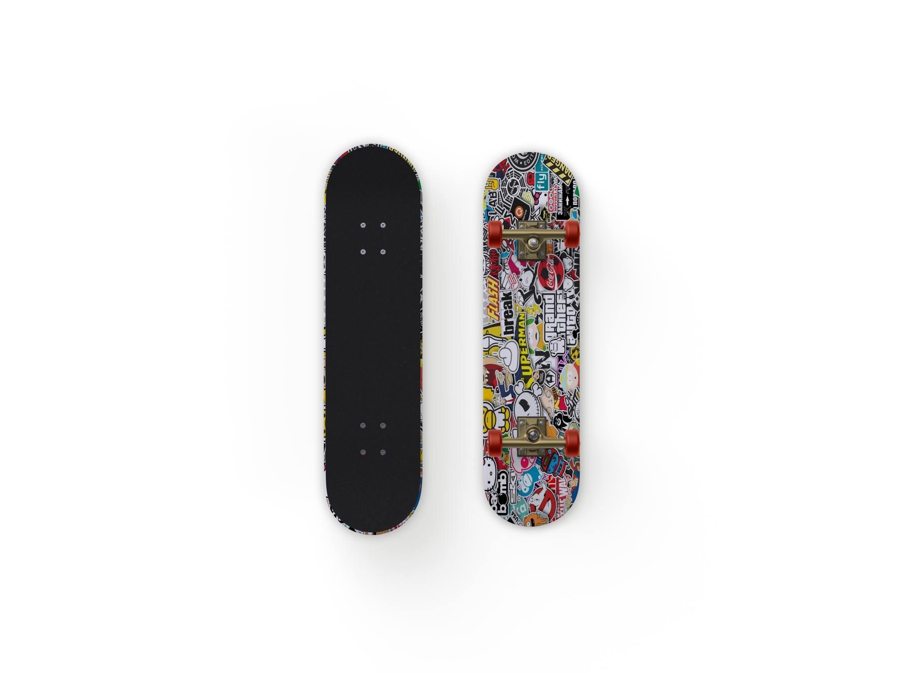 1569819307 39936c9b16a16fc - 潮流涂鸦滑板样机