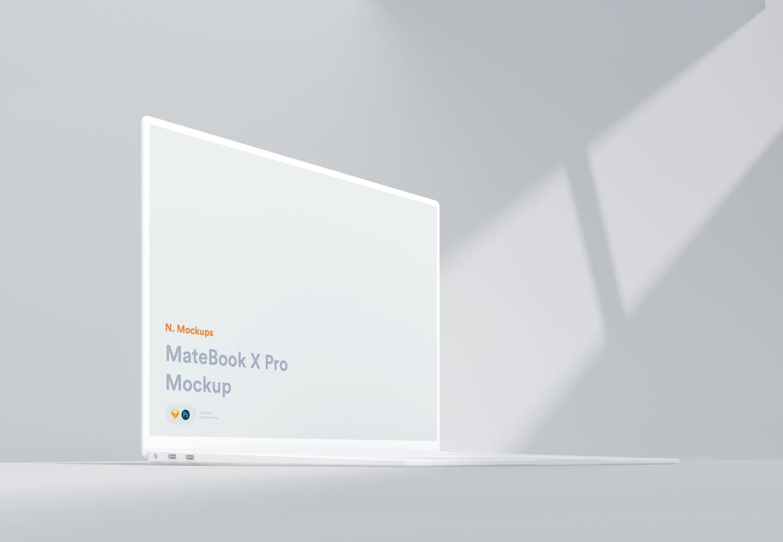 1582289499 31f48b220c027a6 - 简单高端MateBook X pro电脑样机