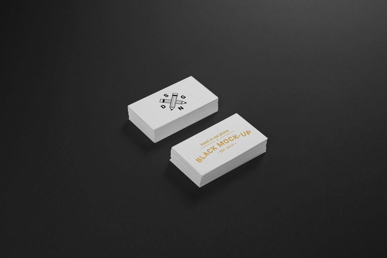 1582362451 d0a99e5750f1b0b - 高端办公用品vi样机简约名片卡片样机