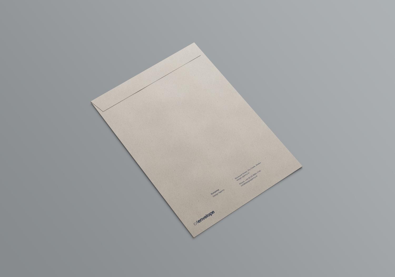 1582370031 32124843c033fb3 - 简约信封纸袋文件袋样机