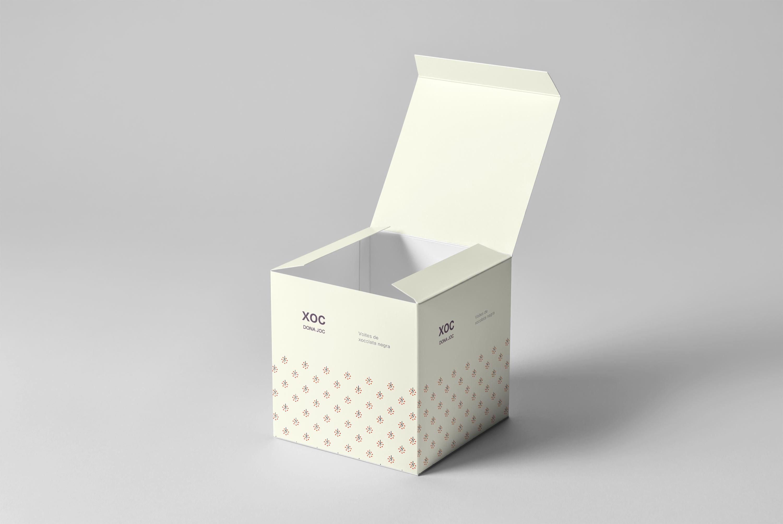 1582692108 b18dbadcebecc6a - 简约包装盒礼品盒样机